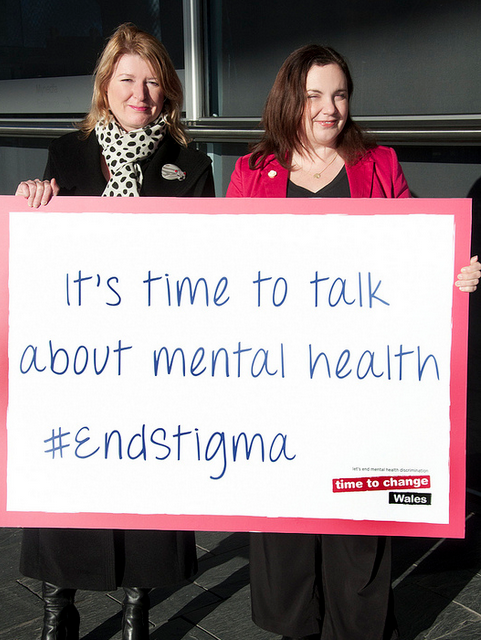 Only through openness can we tackle stigma
