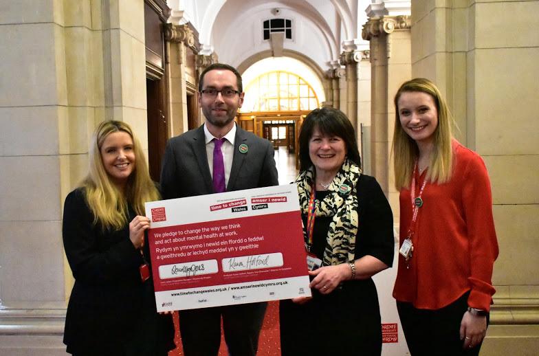 Cardiff University pledge signing